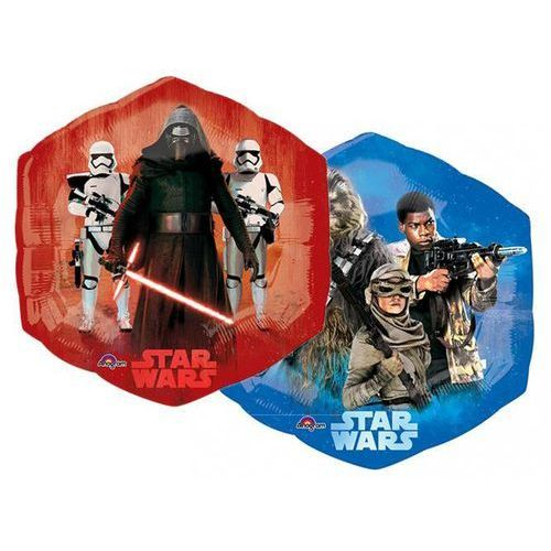 Balon foliowy Star Wars - Przebudzenie Mocy - 53 x 58 cm - 1 szt.