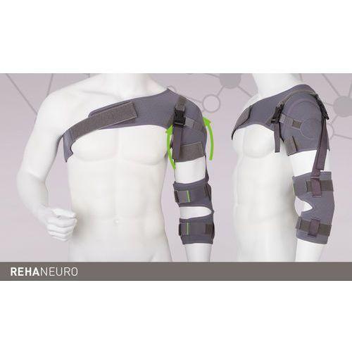 Aparat na bark, ramię i przedramię REHAneuro Stabilizator, staw barkowy, REHAneuro, ERH 59/1, aparat (stabilizator i usztywniacz)