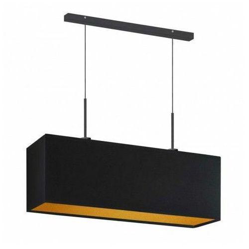 Prostokątna lampa wisząca nad stół na czarnym stelażu - ex407-milovi - 5 kolorów marki Lumes