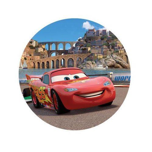 Dekoracyjny opłatek tortowy cars - 20 cm marki Smakop