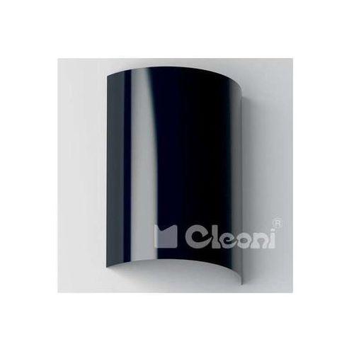 Kinkiet LAMPA ścienna TURBOT 1304N3562+kolor Cleoni metalowa OPRAWA półokrągła