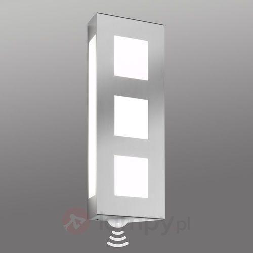 Lampa ścienna zewnętrzna trilo z czujnikiem marki Cmd