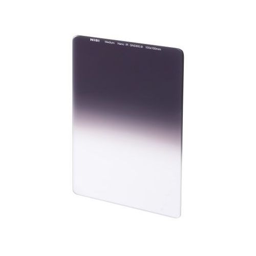 Filtr szary połówkowy Nisi Nano IR 150 Medium Grad ND8 / ND 0.9 (150x170mm)