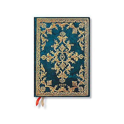 Paperblanks Kalendarz książkowy midi 2020 12m metauro