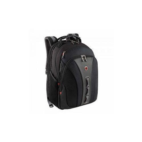Plecak biznesowy z kieszenią na laptopa do 16' marki Wenger model Legacy - kolor czarny