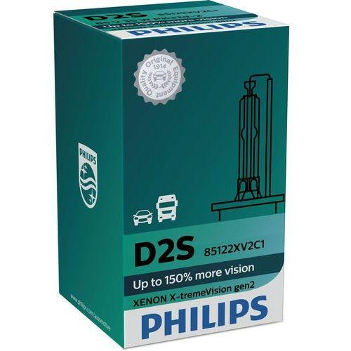 Żarówka samochodowa ksenonowa Philips XENON X-TREMEVISION 85122XV2C1 D2S PK32d-2/35W/85V, PH-85122XV2C1