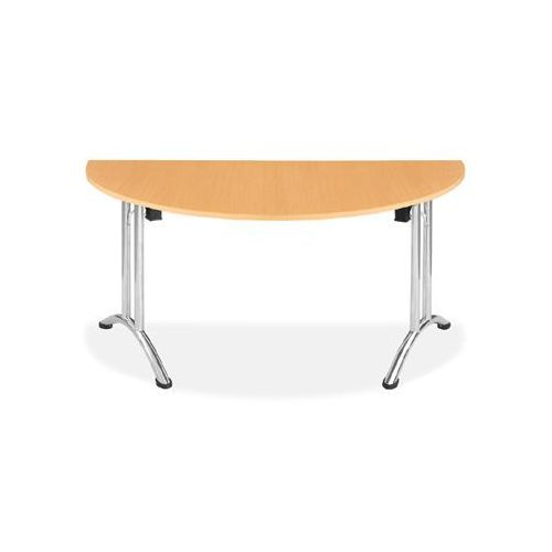 Ultra plus Stół domino 160/80 - półokrąg składany