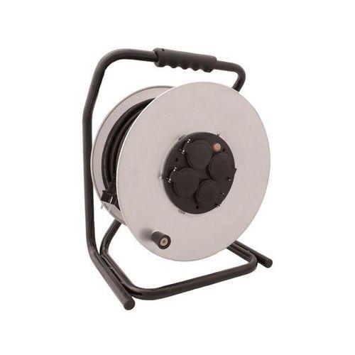 Przedłużacz bębnowy 4gn 50m 3x2,5mm w gumie (pzb-1111-50g/2,5) 5902694727650 - - rabat w koszyku marki Kobi light
