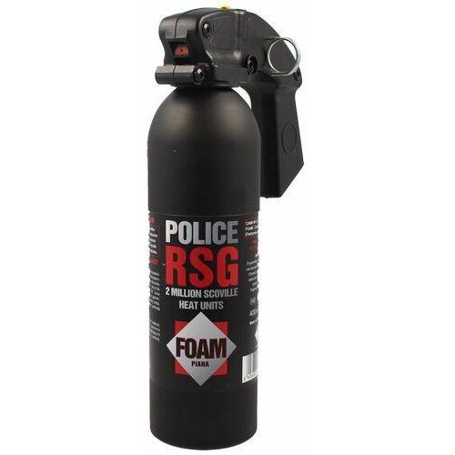 Gaz pieprzowy Sharg Police RSG Foam-Piana 400ml HJF (12400-HF)