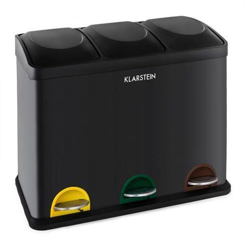 Ökosystem pojemnik kosz na śmieci pedałowy separator 45l (2 x 15 l) marki Klarstein