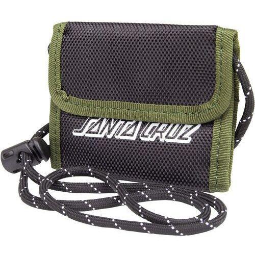 portfel SANTA CRUZ - Force Wallet Black/Olive (BLACK-OLIVE) rozmiar: OS
