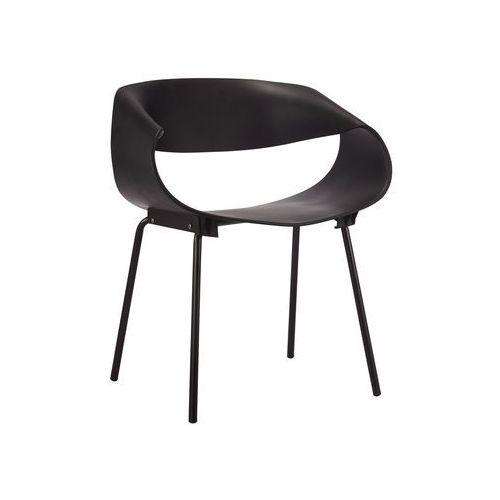 Exitodesign Krzesło cosmo black steel