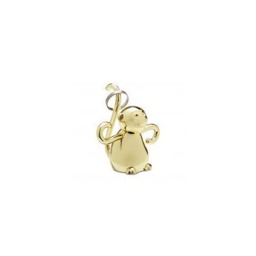 Wieszak na biżuterię Zoola Małpka Brass, 82738