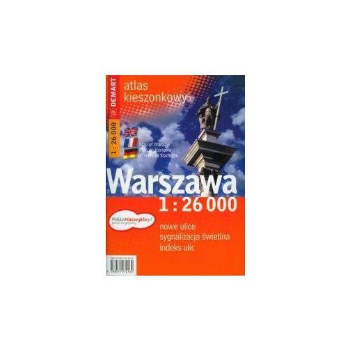 Kieszonkowy Atlas Warszawy 1: 26 000 (+ metro) (2016)