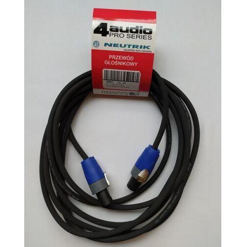 4Audio LS2250 5m przewód głośnikowy 2x2,5mm ze speakonem