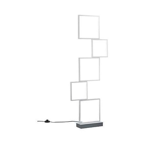 Trio Sorrento 427710505 lampa podłogowa stojąca 1x34W LED 3000K szczotkowane aluminium (4017807442212)