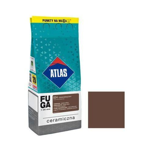 Fuga ceramiczna 024 ciemnobrązowy 2 kg ATLAS (5905400572384)