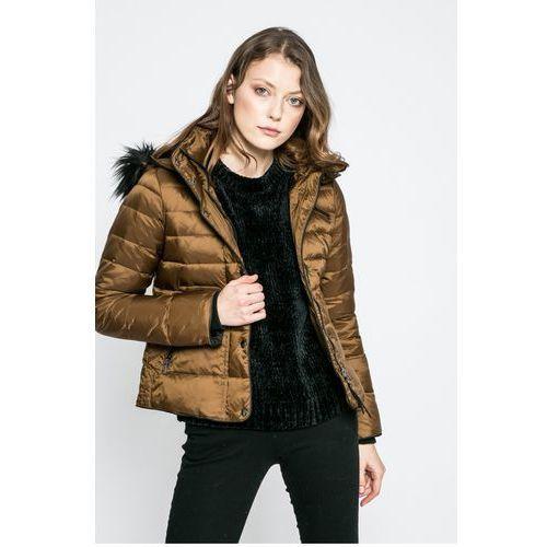 Vero Moda - Kurtka puchowa Marga, kolor brązowy