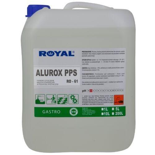 Royal Płyn do mycia i dezynfekcji podłóg i ścian alurox pps 5 l środki czystości dla przemysłu spożywczego