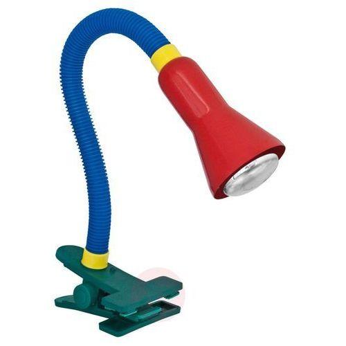 Trio 5028 lampa z klipsem kolorowy, 1-punktowy - nowoczesny/wielokolorowy/lokum dla młodych/dziecko - obszar wewnętrzny - 5028 - czas dostawy: od 2-3 tygodni (4017807051438)
