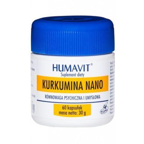 HUMAVIT Kurkumina KURKUMA Nano 60kp (Pozostałe leki chorób układu pokarmowego)