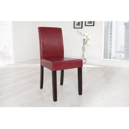 Krzesło Genova bordeaux - czerwony - wzór 4