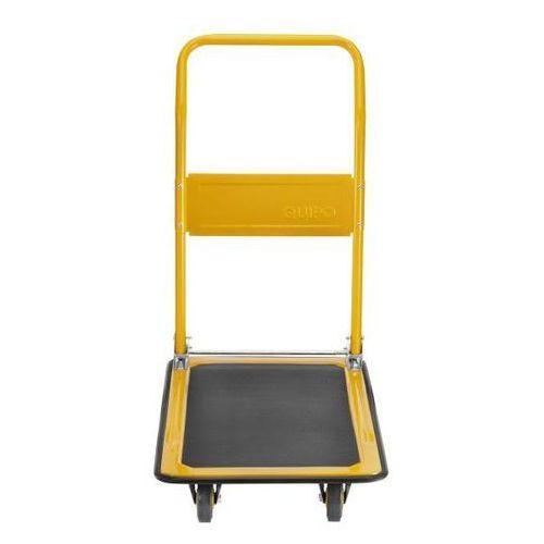 Quipo Wózek platformowy, nośność 170 kg, melonowo-żółty, od 2 szt. wzmocniona powierzc