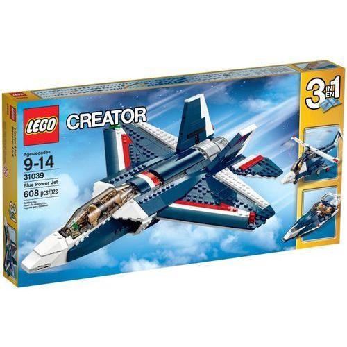 Lego CREATOR Błekitny odrzutowiec 31039