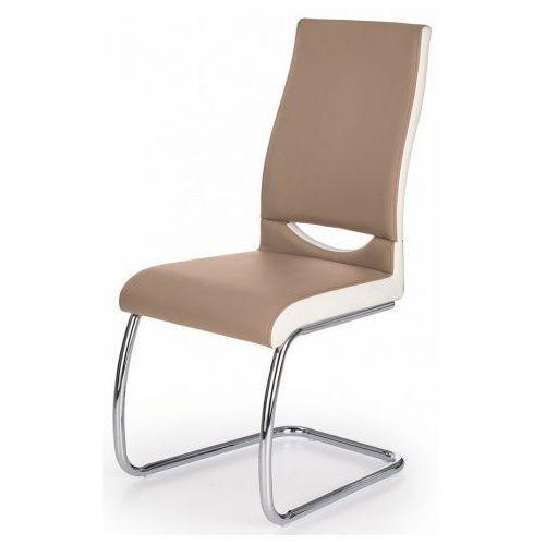 Krzesło tapicerowane Driven - cappuccino, kolor Krzesło