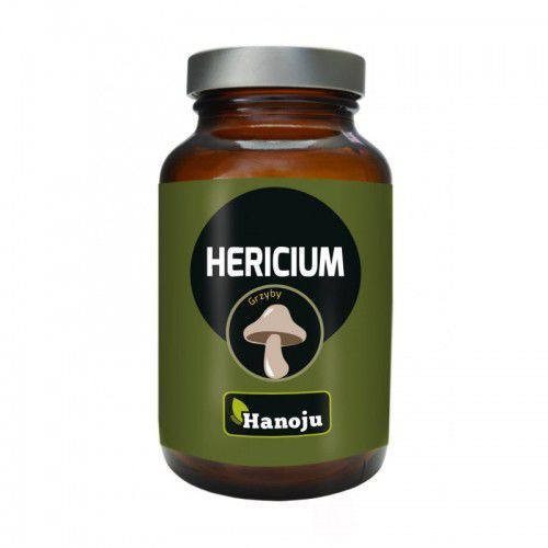 Grzyb Hericium - Soplówka Jeżowata 400 mg (90 tabl.) Hanoju (8718164781117)