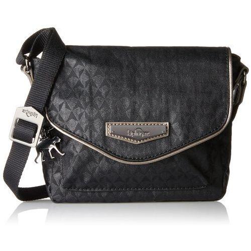 Kipling damski Kassandra S torba na ramię, 18 x 17 x 7 cm - czarny -, K12047