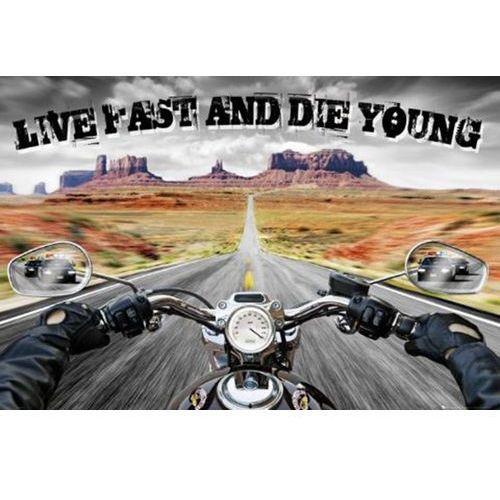 Żyj szybko umrzyj młodo - policyjny pościg - plakat od producenta Gb