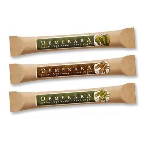 Cukier trzcinowy w paluszkach Demerara 1000szt/5g (5904259711203)