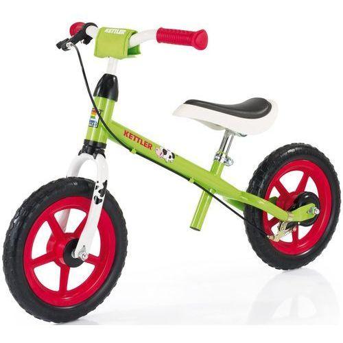 """Kettler Rowerek biegowy speedy 12.5"""" emma-zielony - zielono-biało-czarny   pomarańczowy   czerwony (2010000499252)"""