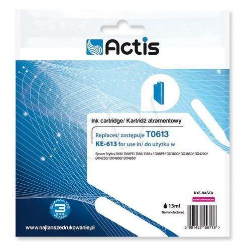 Actis KE-613 (Epson T0613 D68/D88/DX3800) Magenta Darmowy odbiór w 21 miastach!