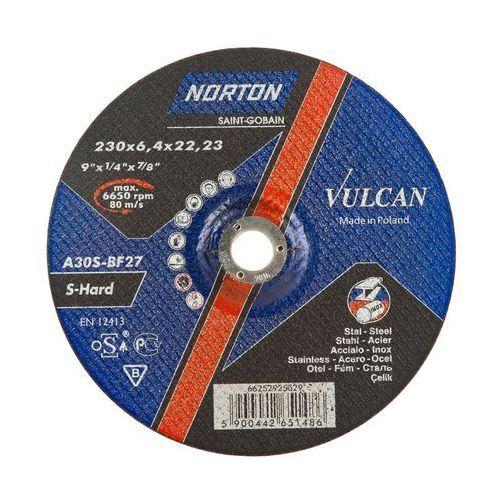 Tarcza do szlifowania T27 230 x 6.4 x 22.23 STAL VULCAN (5900442651486)
