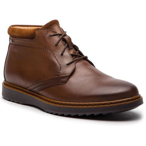 Trzewiki CLARKS - Un Geo Mid Gtx GORE-TEX 261367747 Brown Leather, kolor brązowy
