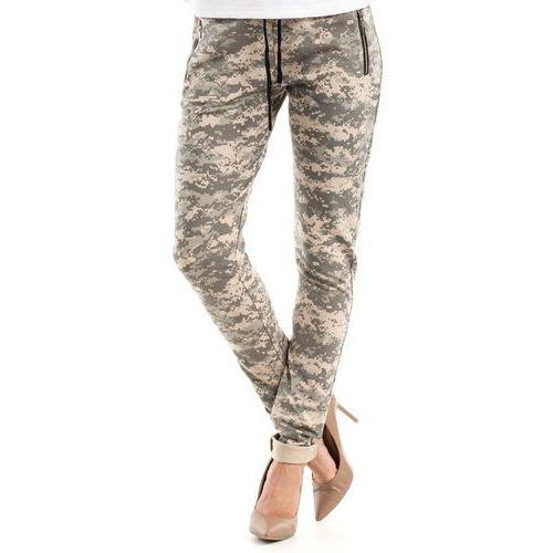 Bawełniane wygodne damskie spodnie moro 239_3, Moe