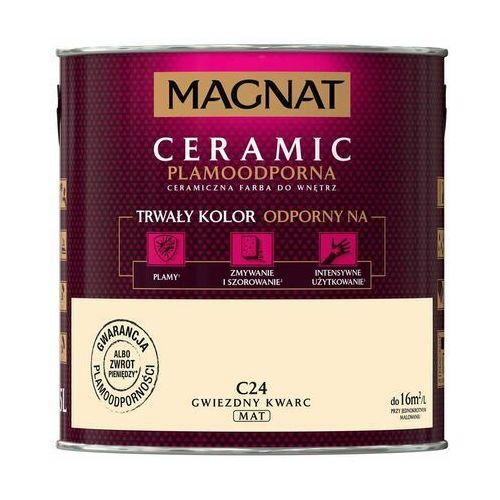 Śnieżka Farba magnat ceramic gwiezdny kwarc 2,5 l (5903973108870)