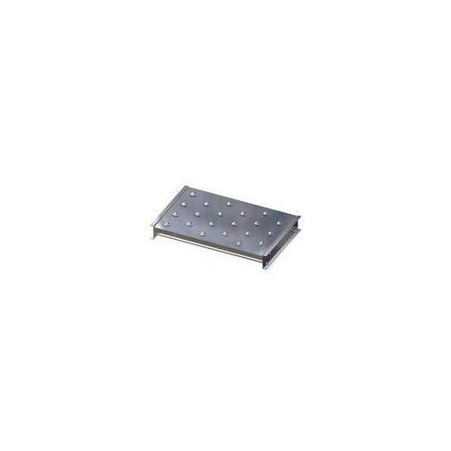Gura fördertechnik Stół kulowy, wys. konstrukcji 110 mm, szer. przenośnika 750 mm, dł. 500 mm, podz