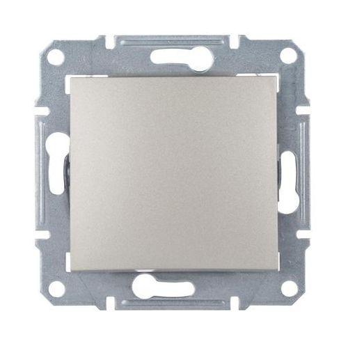 Sedna Przycisk jednobiegunowy 1Z satyna SDN0700168 SCHNEIDER ELECTRIC