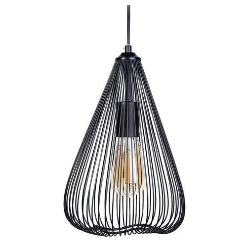 Lampa wisząca czarna metal conca marki Beliani