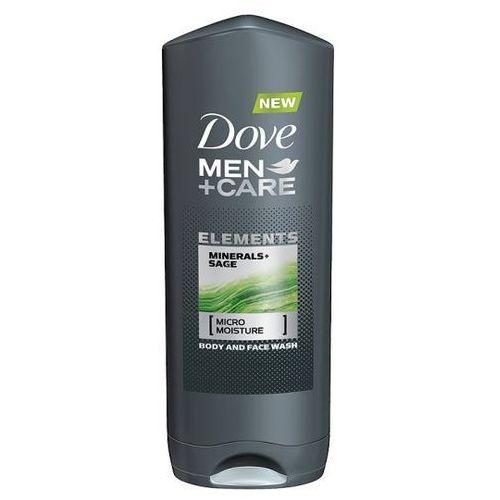 Dove Men+Care Elements Żel pod prysznic do twarzy i ciała 2w1 (Minerals + Sage) 400 ml (8710908690785)