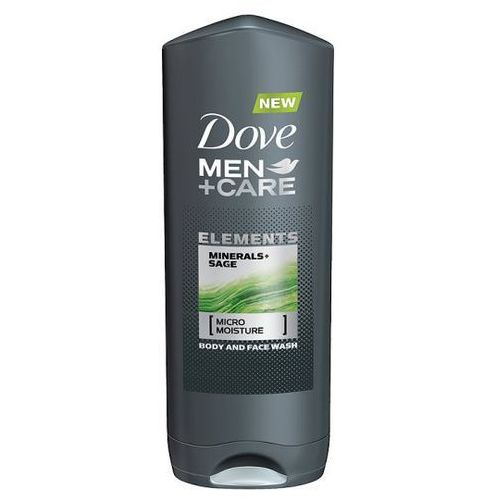 men+care elements żel pod prysznic do twarzy i ciała 2w1 (minerals + sage) 400 ml marki Dove