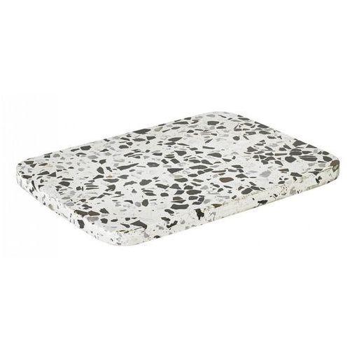 Blomus - kamienna deska - white/black (4008832656859)
