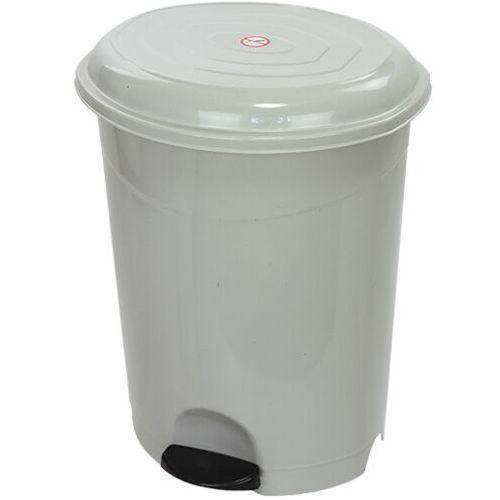 Kosz na śmieci 50 L otwierany przyciskiem pedałowym Kosz plastikowy z pedałem nożnym