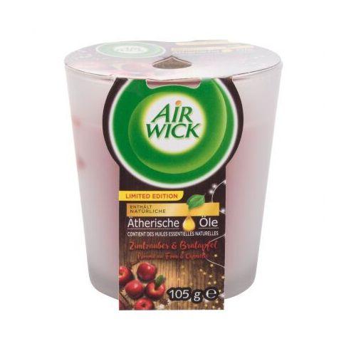 Air Wick Spiced Cinnamon & Baked Apple świeczka zapachowa 105 g unisex (4002448081067)