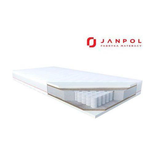 erebu dream - materac kieszeniowy, sprężynowy, pokrowiec - tencel, rozmiar - 80x190 wyprzedaż, wysyłka gratis marki Janpol