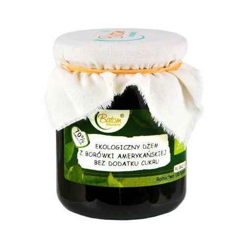 Żż dżem z borówki amerykańskiej b/c bio 260 g - batom marki Batom (dżemy, soki, kompoty, czystek)