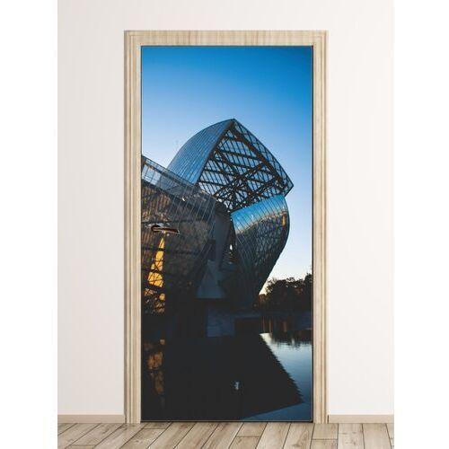 Fototapeta na drzwi nowoczesna architektura paryża fp 6141 marki Wally - piękno dekoracji